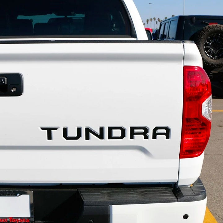 Image of Tailgate Emblem Inserts for Tundra (2016-2021)