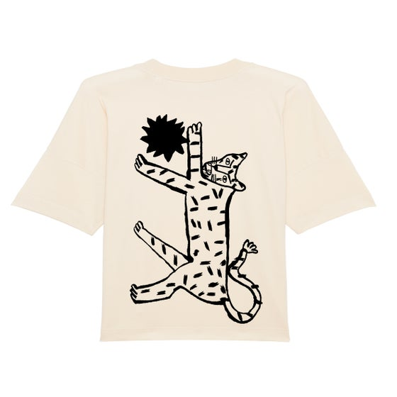 Image of Sun Cat - Adult's Oversized T-shirt