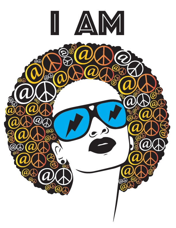 """At Peace """"Afro"""" t-shirt (limited edition)"""
