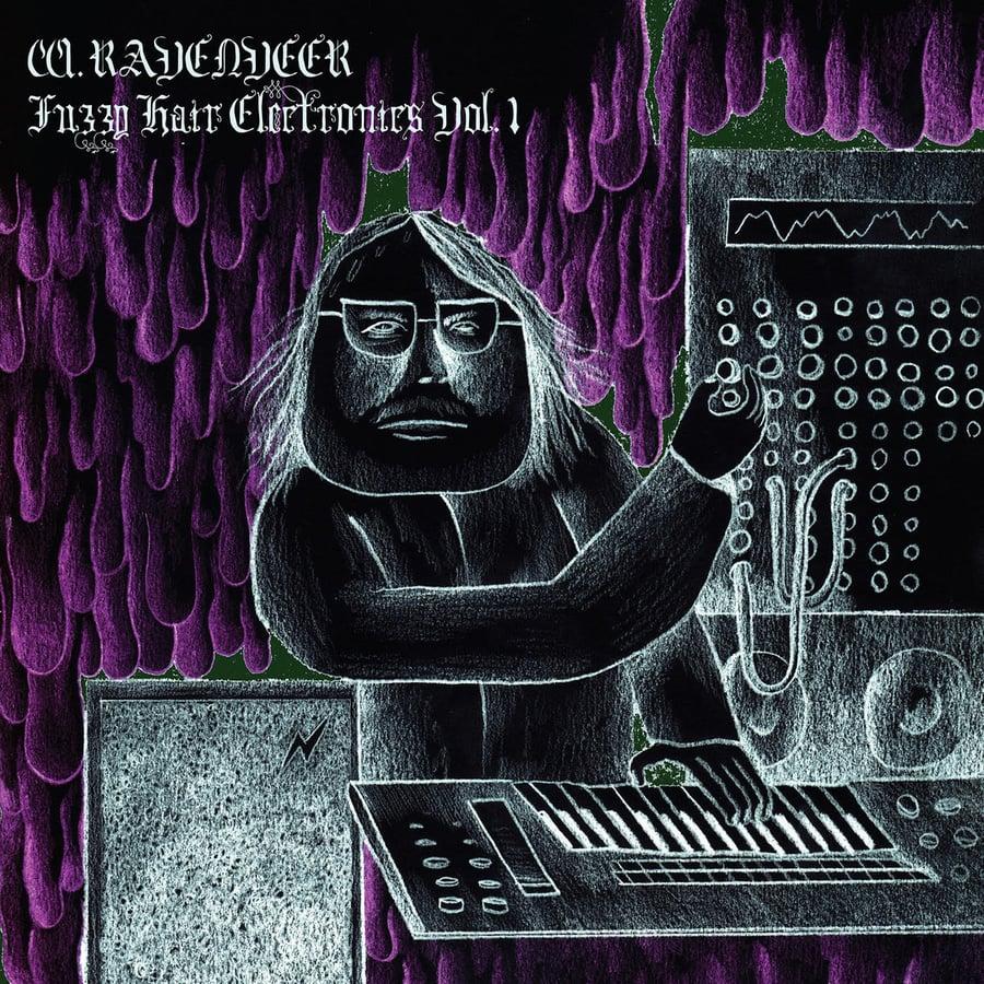 "Image of W. RAVENVEER: ""Fuzzy Hair Electronics Vol. 1"" LP"