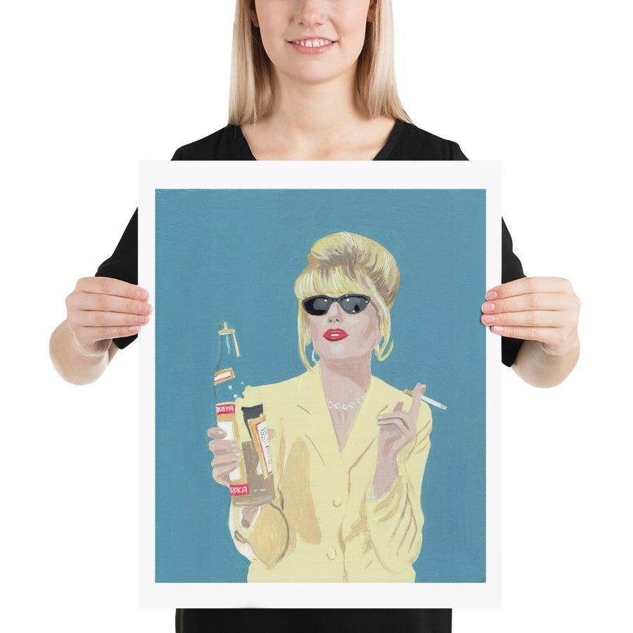 Image of ABSOLUTELY FABULOUS POSTER PRINT
