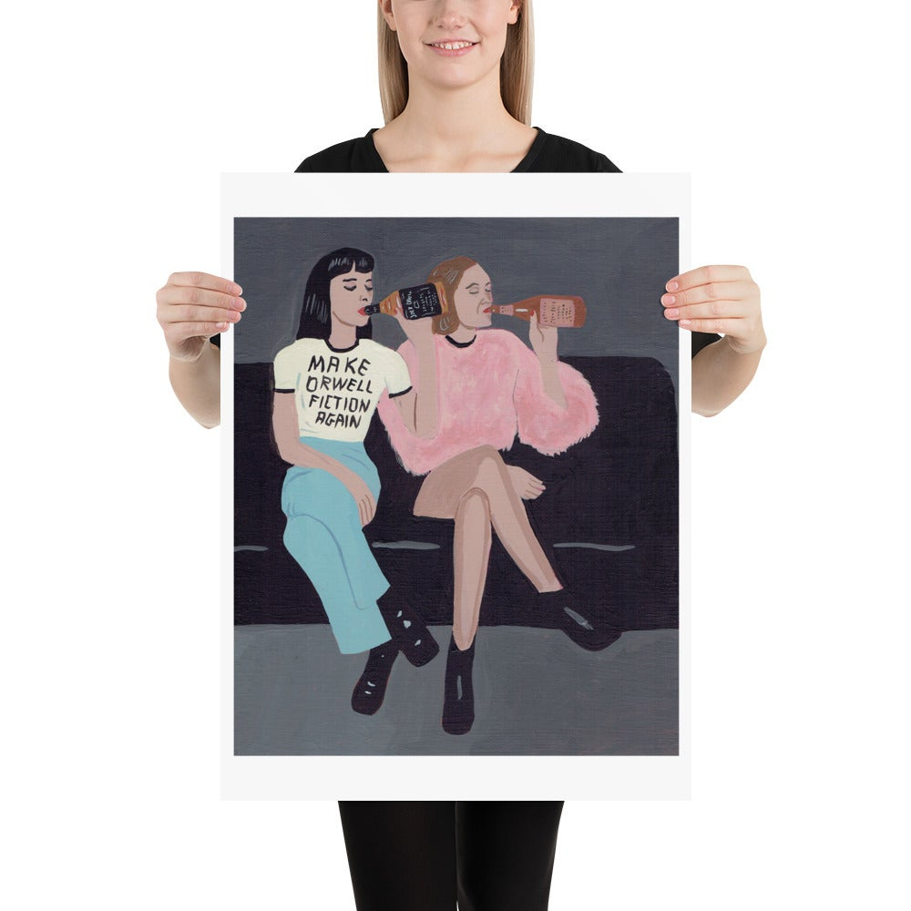 Image of  ORWELL POSTER PRINT
