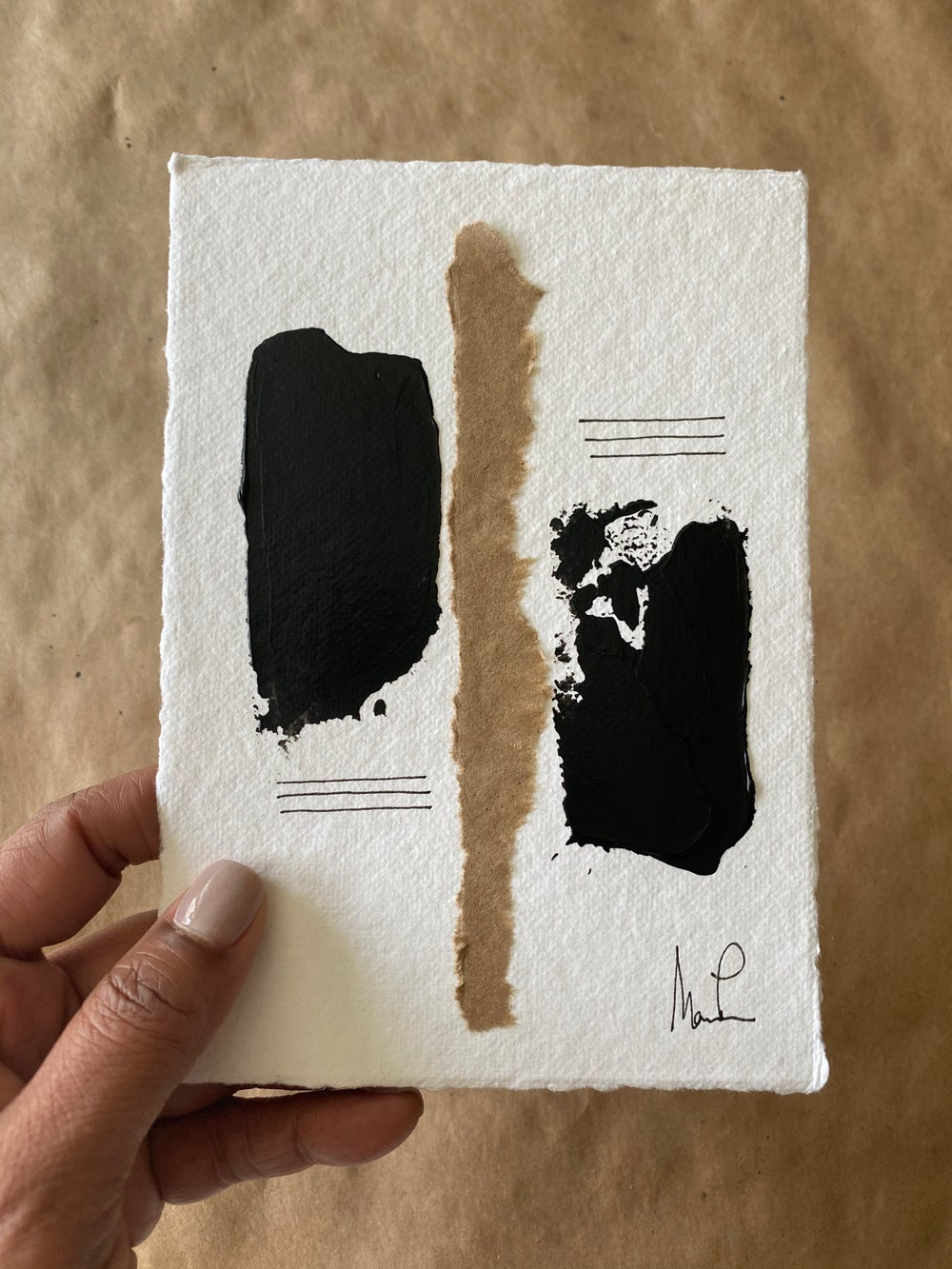 Image of Black Tie Cotton Rag (21)