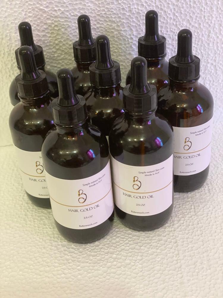Image of Hair gold hair oil