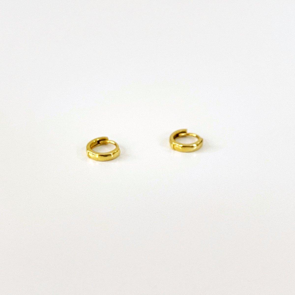 Image of Tiny huggy hoop earring