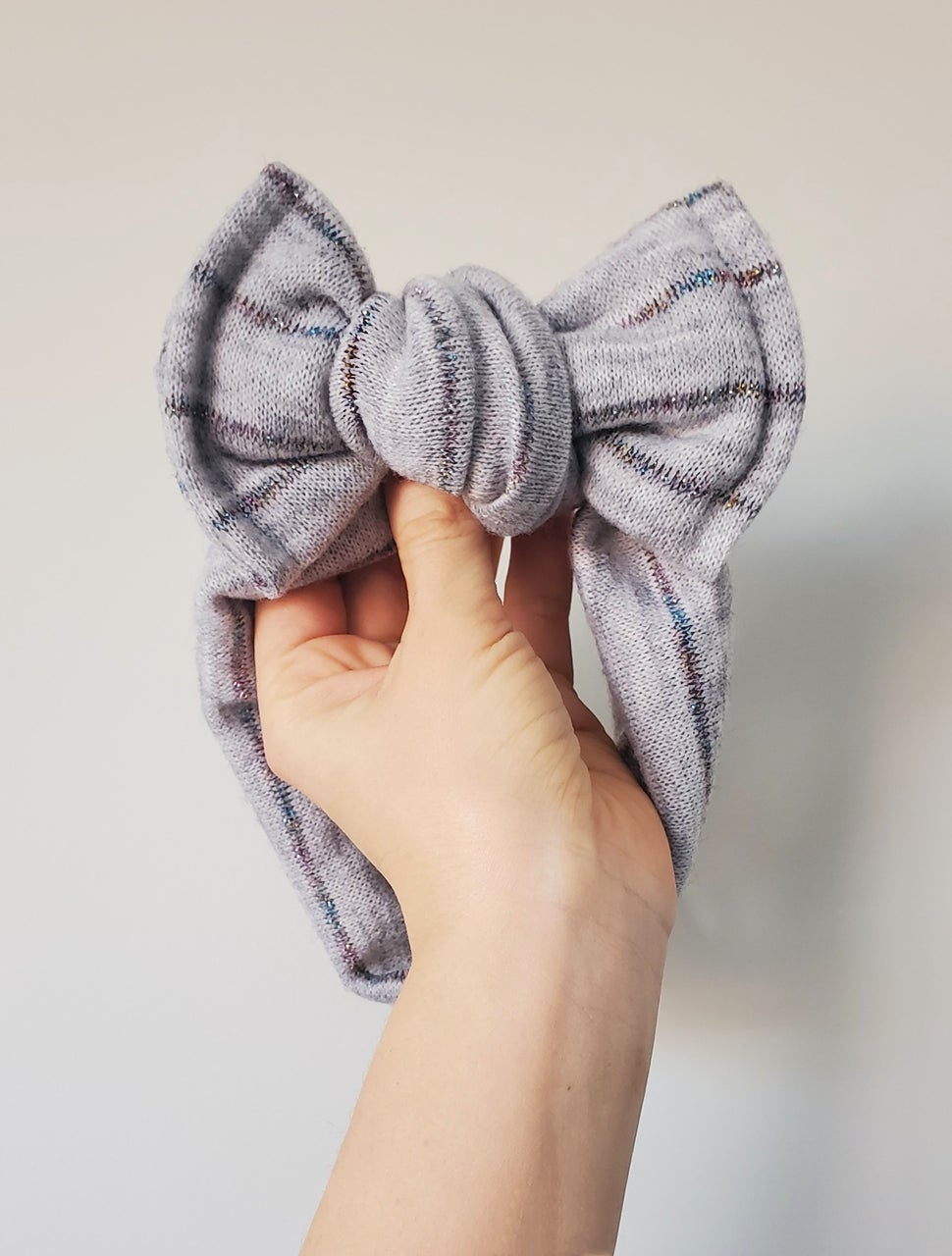 Image of Leave a little sparkle chunky bow headband