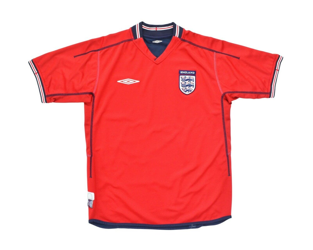 Image of 2002-04 Umbro England Away Shirt L