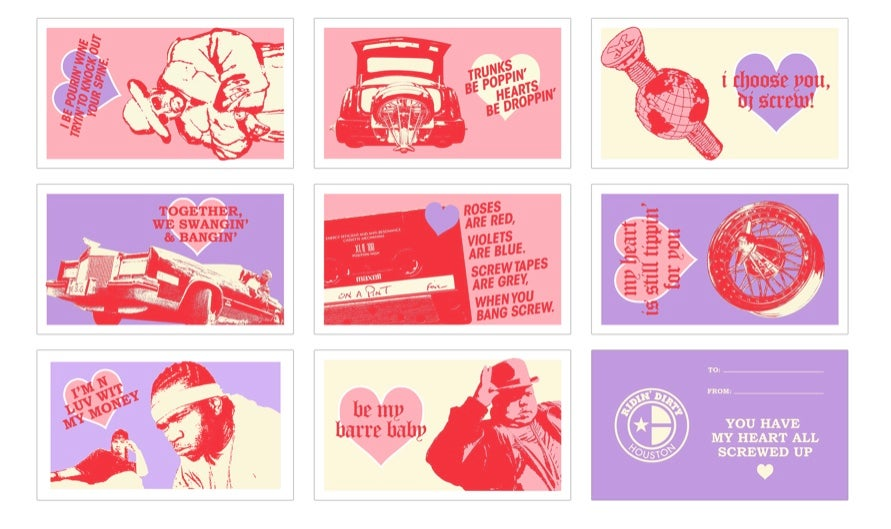 Image of HTOWN LOVE MINI VALENTINES SET