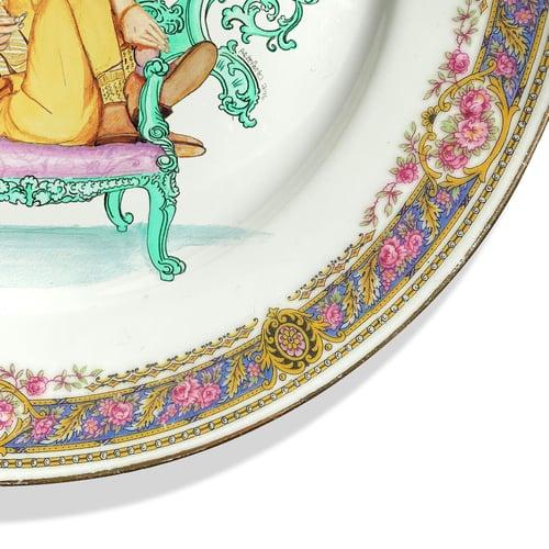 Image of The Thin White Duke - Vintage Porcelain Plate - #0736