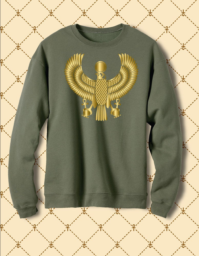 Image of Men's Custom Heru Gold Foil Fleece