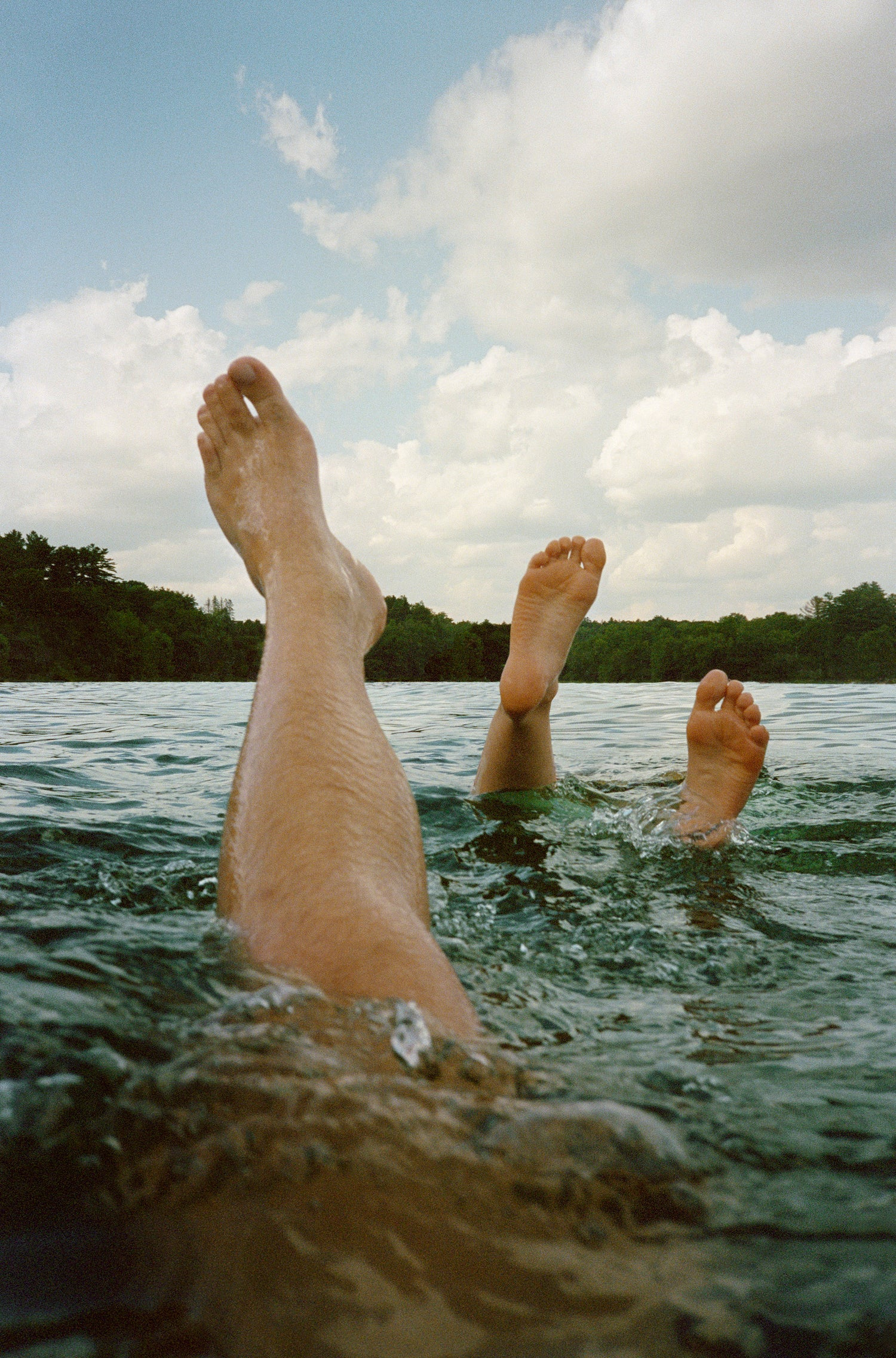 Image of 'LEGS IN LAKE' 24x36 POSTER