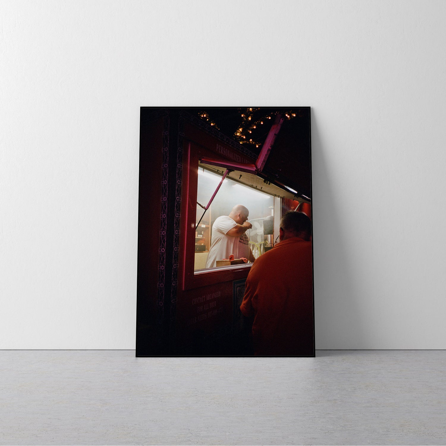 Image of 'CIGAR STAND MAN' 24x36 POSTER