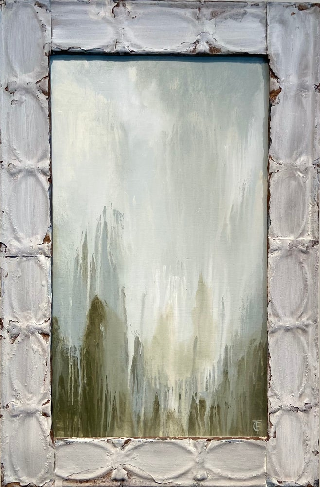 Image of Abstract Landscape Tin 24x36