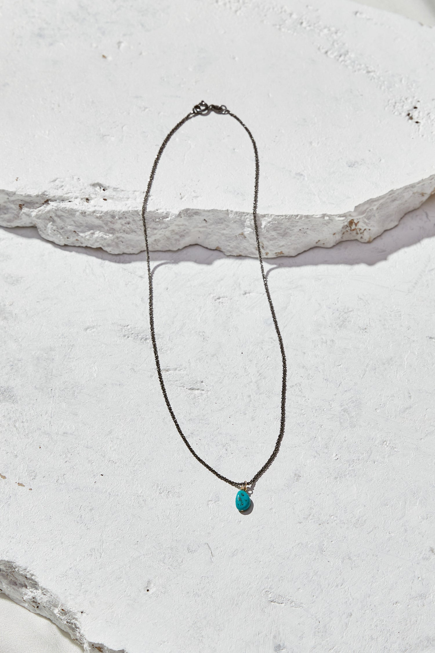 Image of Simple Turquoise Necklace