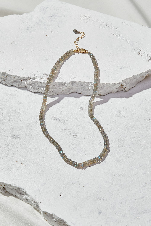 Image of Labradorite Beaded Necklace