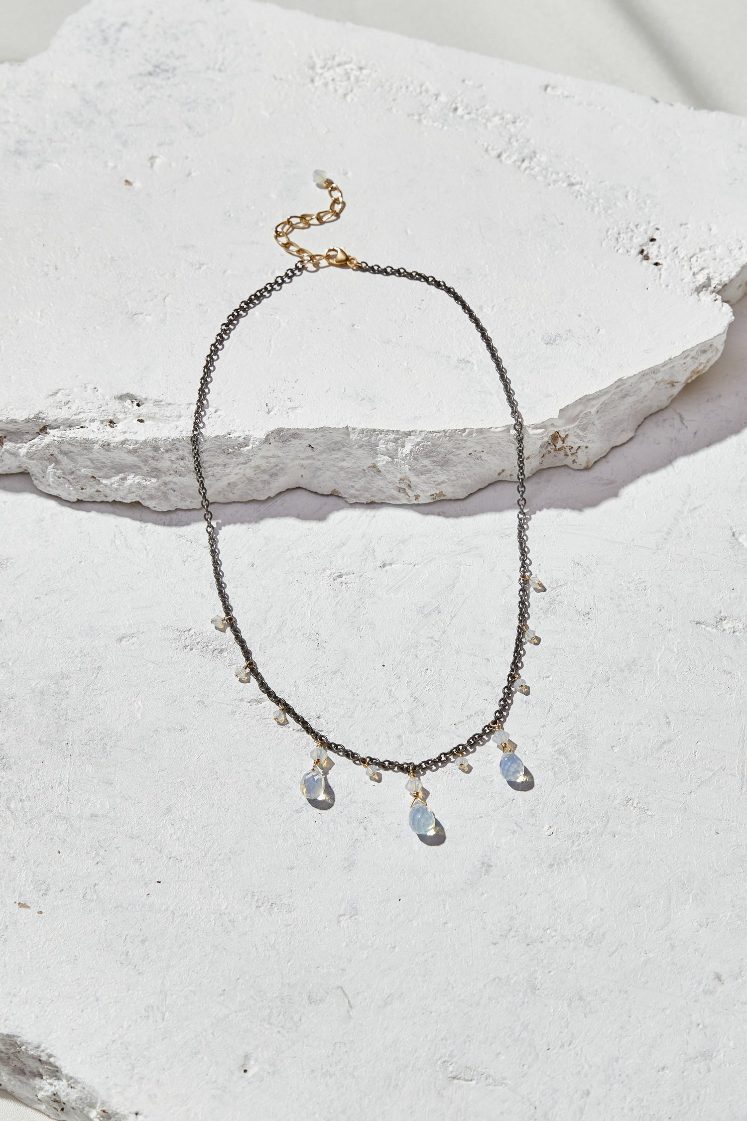 Image of Opalite Statement Necklace