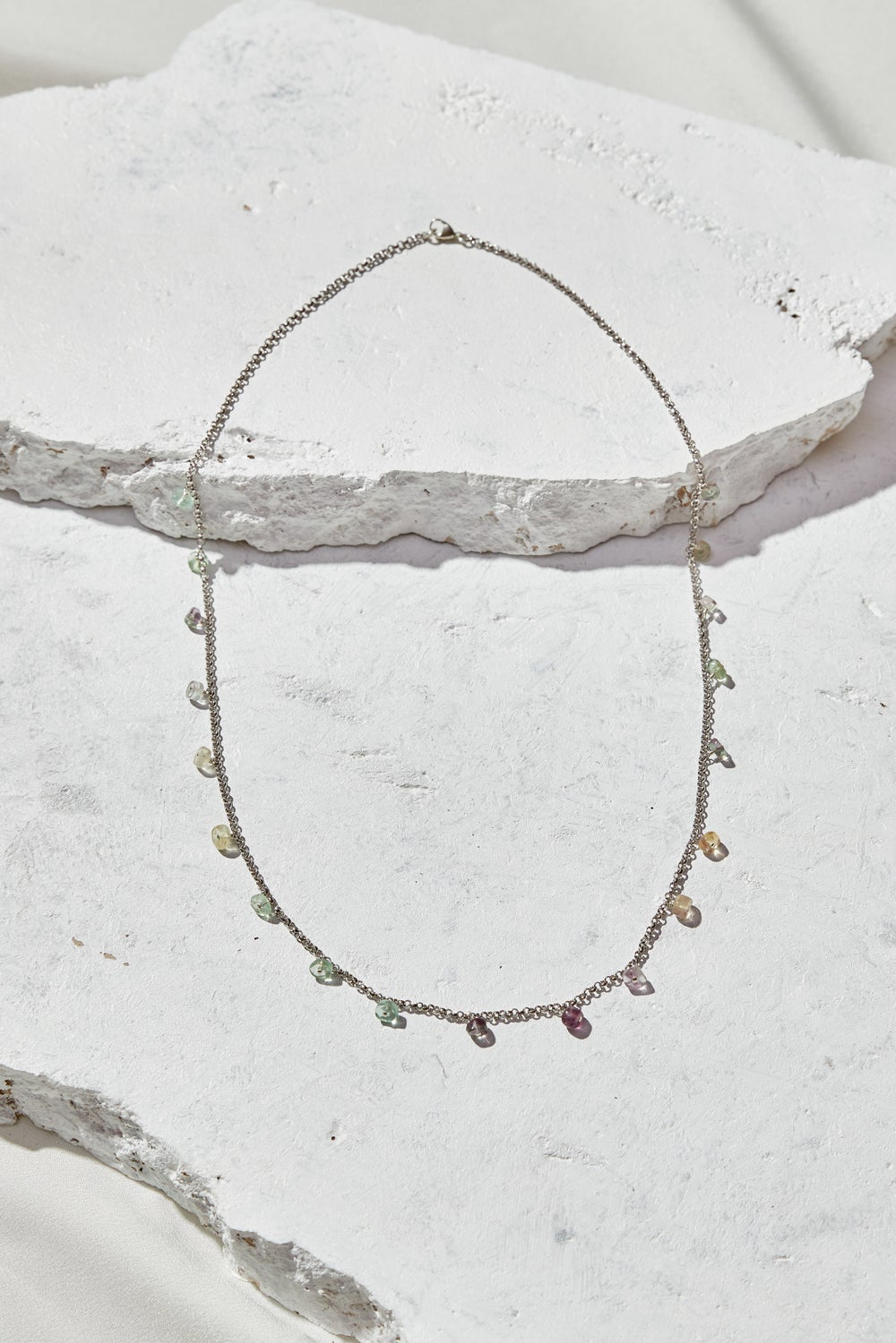 Image of Rainbow Flourite Necklace