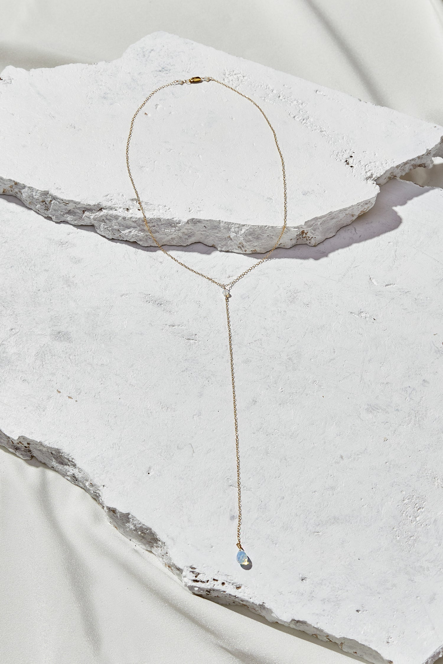 Image of Opalite Lariat Necklace