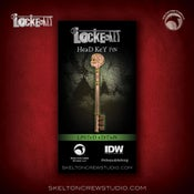 Image of Locke & Key: Limited Edition Head Key pin!