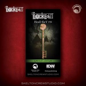 Image of Locke & Key: Limited Edition Head Key pin!