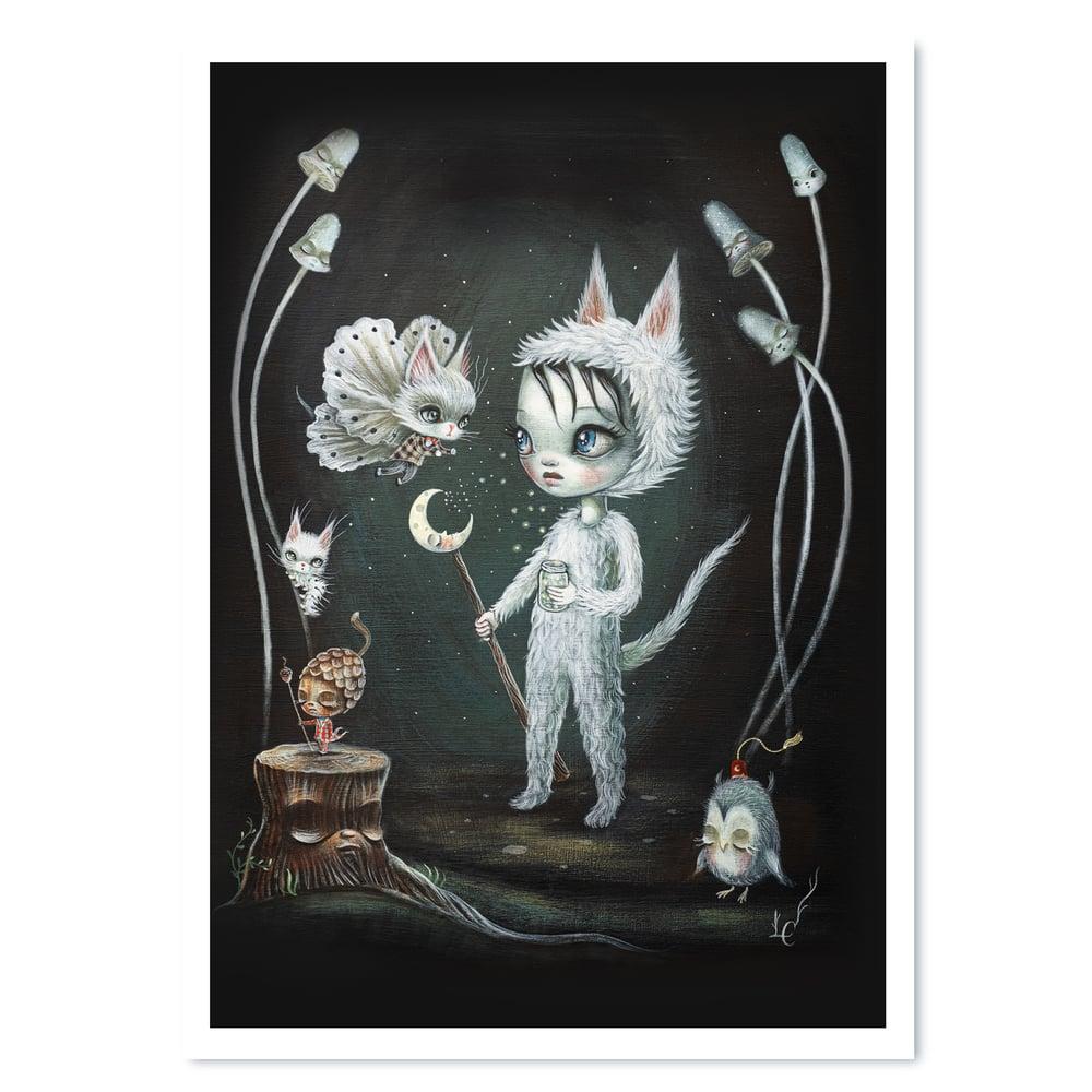Image of Moonbeam Whispers (Print)