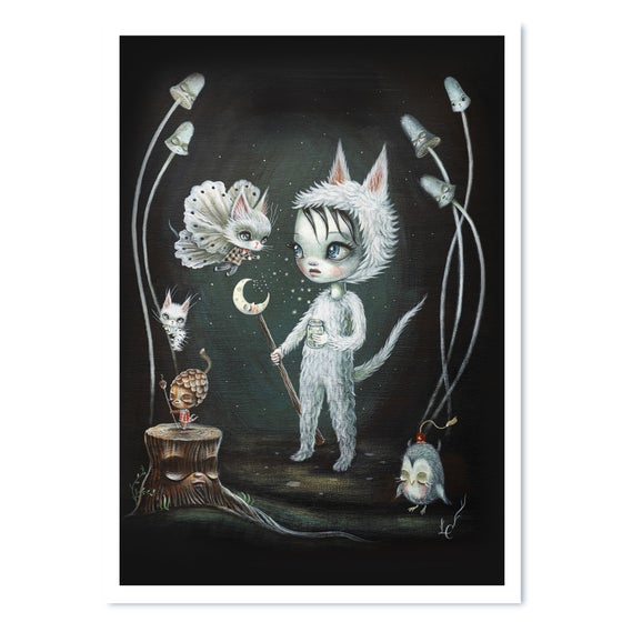 Image of Moonbeam Whispers (Print)
