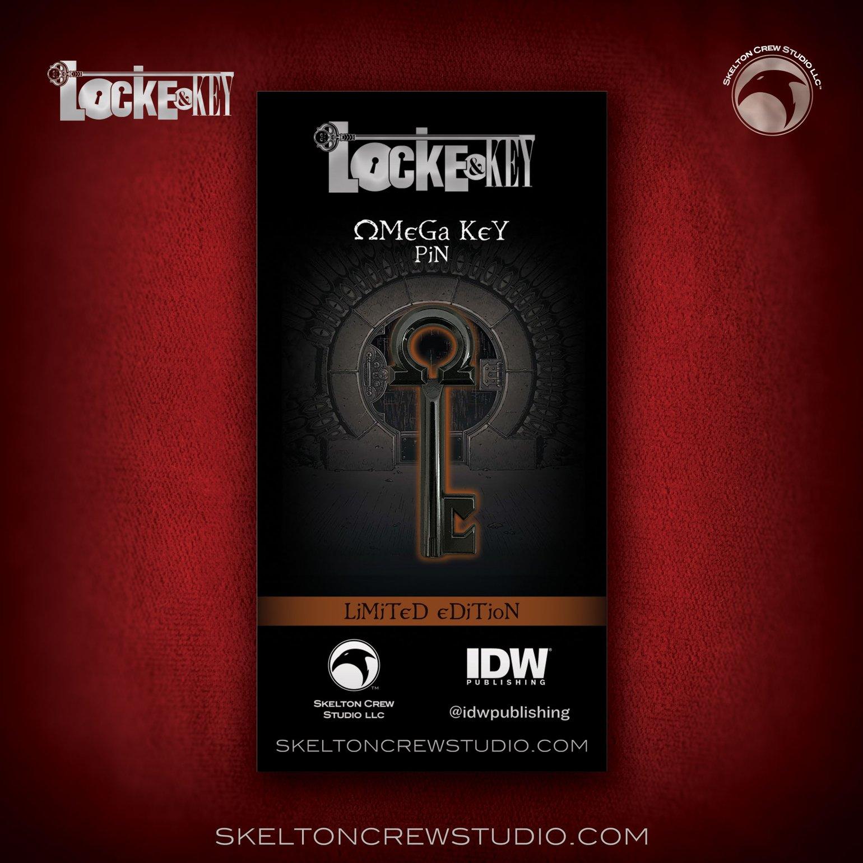 Image of Locke & Key: Limited Edition Omega Key Pin!