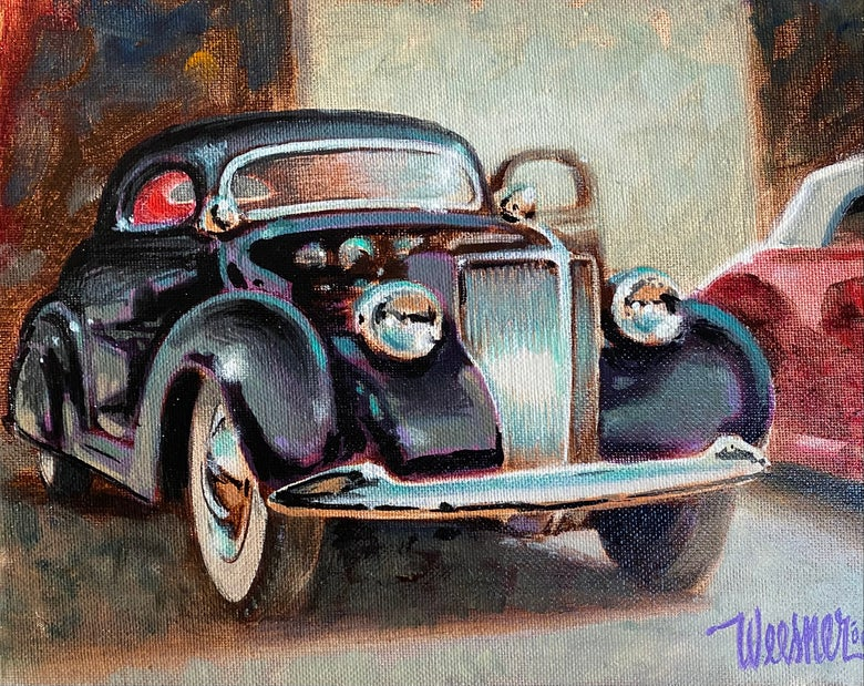 Image of '36 Coupe (original painting)