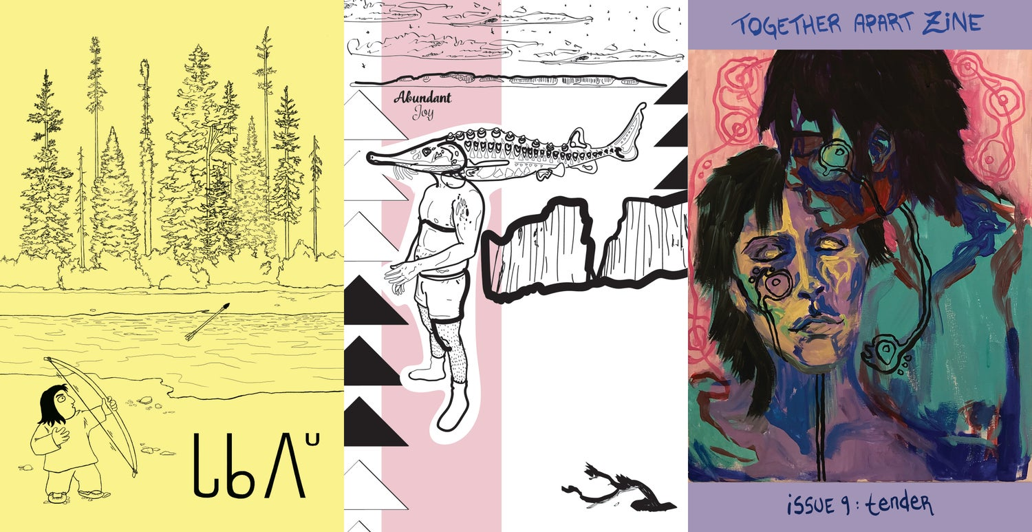 Image of Together Apart Zine Bundle, Issues 7-9