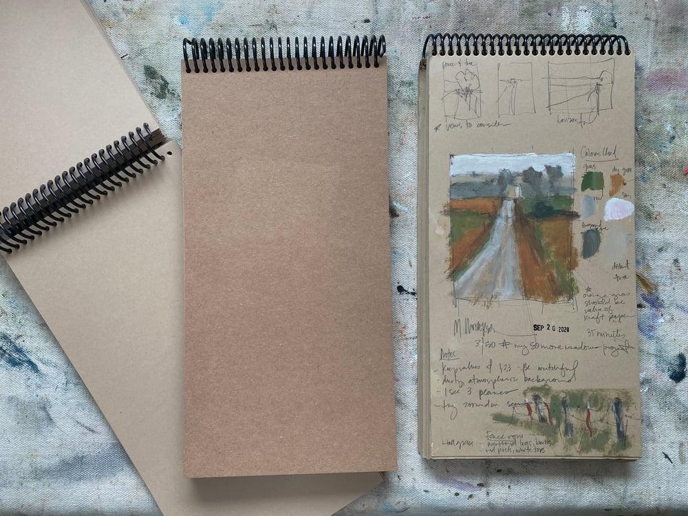 Image of 6 x 12 Kraft Sketchbook