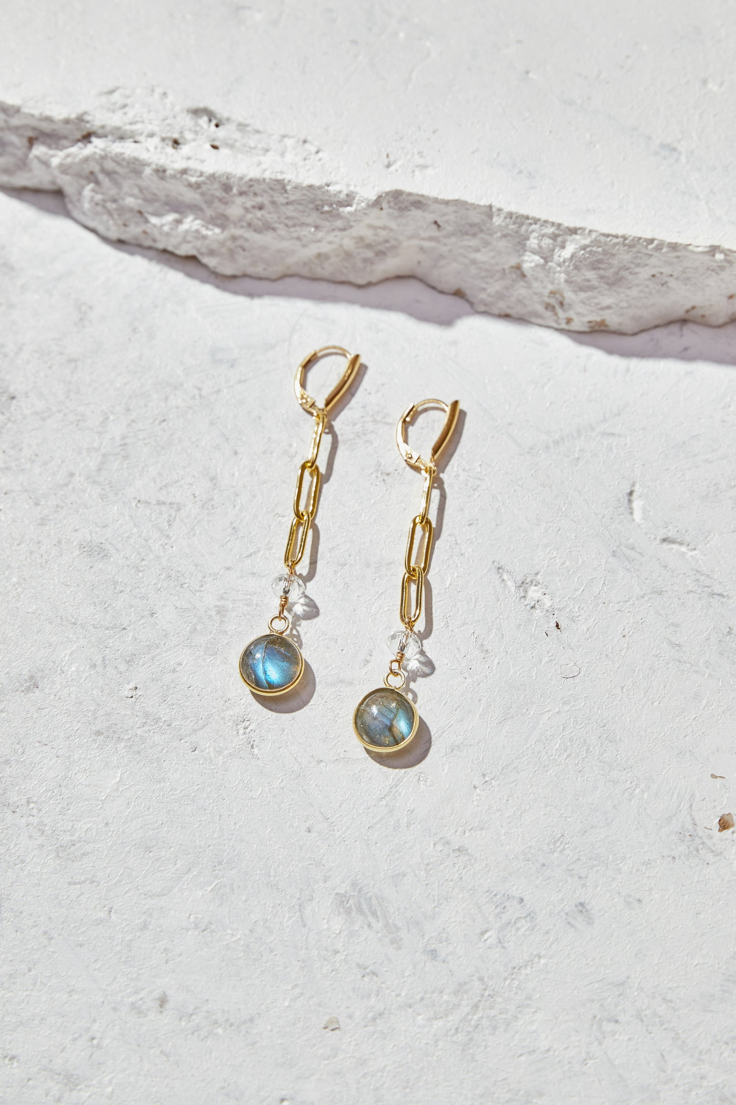 Image of Labradorite Earrings