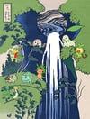 Pokemon Hokusai Grass Print
