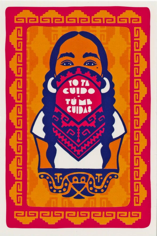 Image of Yo Te Cuido, Tú Me Cuidas  Sticker Pack (2021)