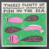 """""""Fish in the Sea"""" Risograph Print"""