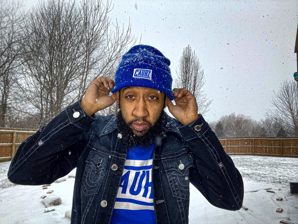 Cauhz™️ Royal Blue Logo Stitched Beanie