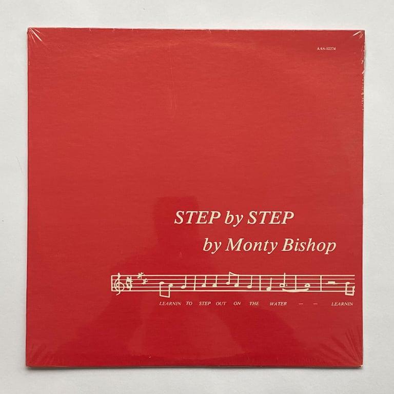 Image of MONTY BISHOP - STEP BY STEP LP