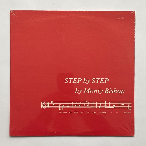 Image of MONTY BISHOP - STEP BY STEP LP