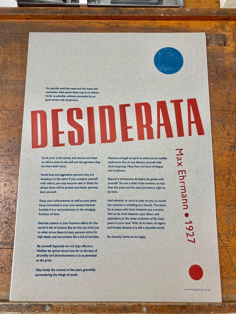 Image of Desiderata