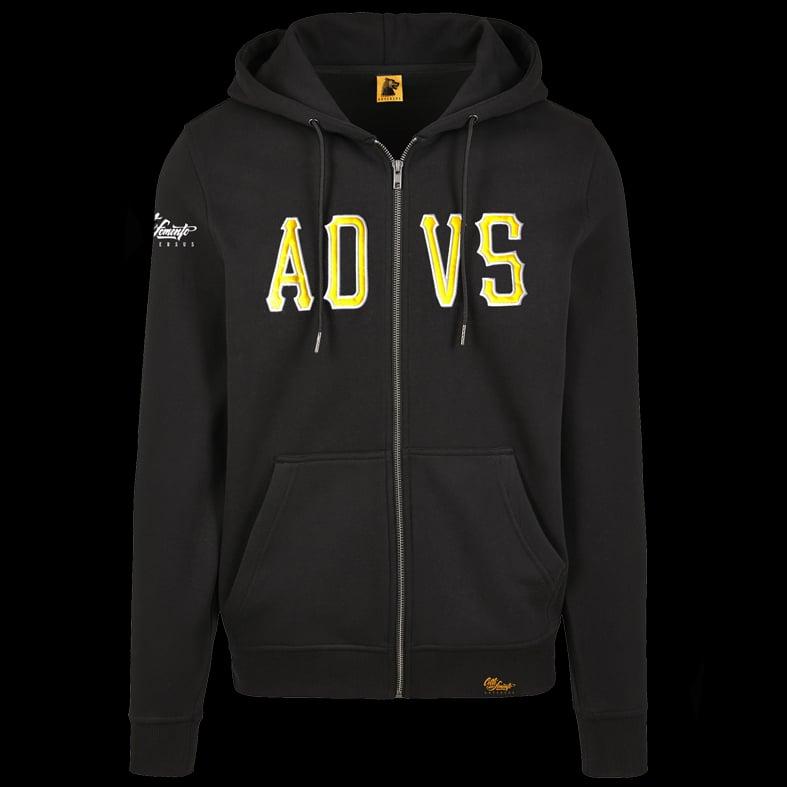 Image of ADVS Zip Hoodie Sweatshirt (Special Edition)