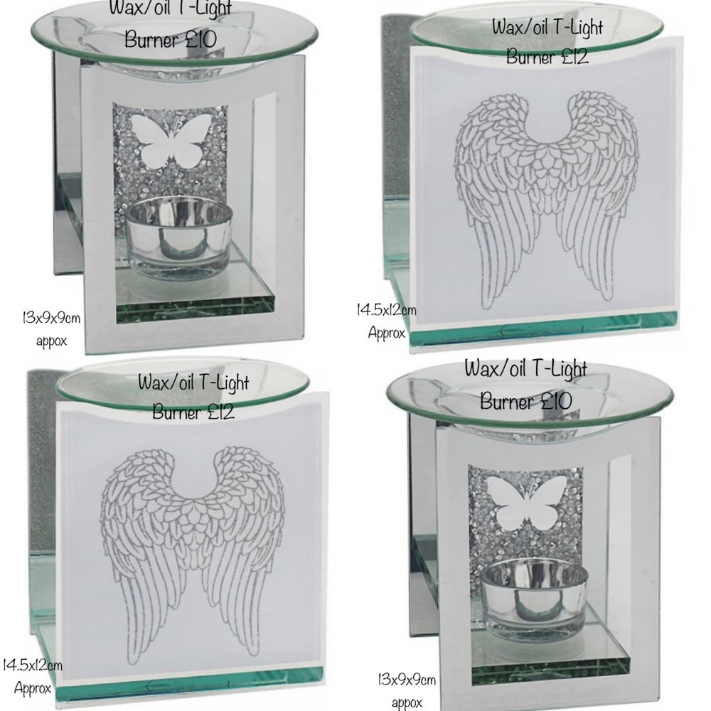 Image of Wax Melt & Oil Tea Light Burners Prices Start From £10