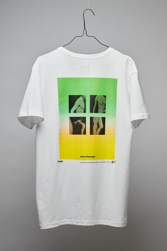 Image of OPIUM OF THE PEOPLE WHITE T-SHIRT 2021