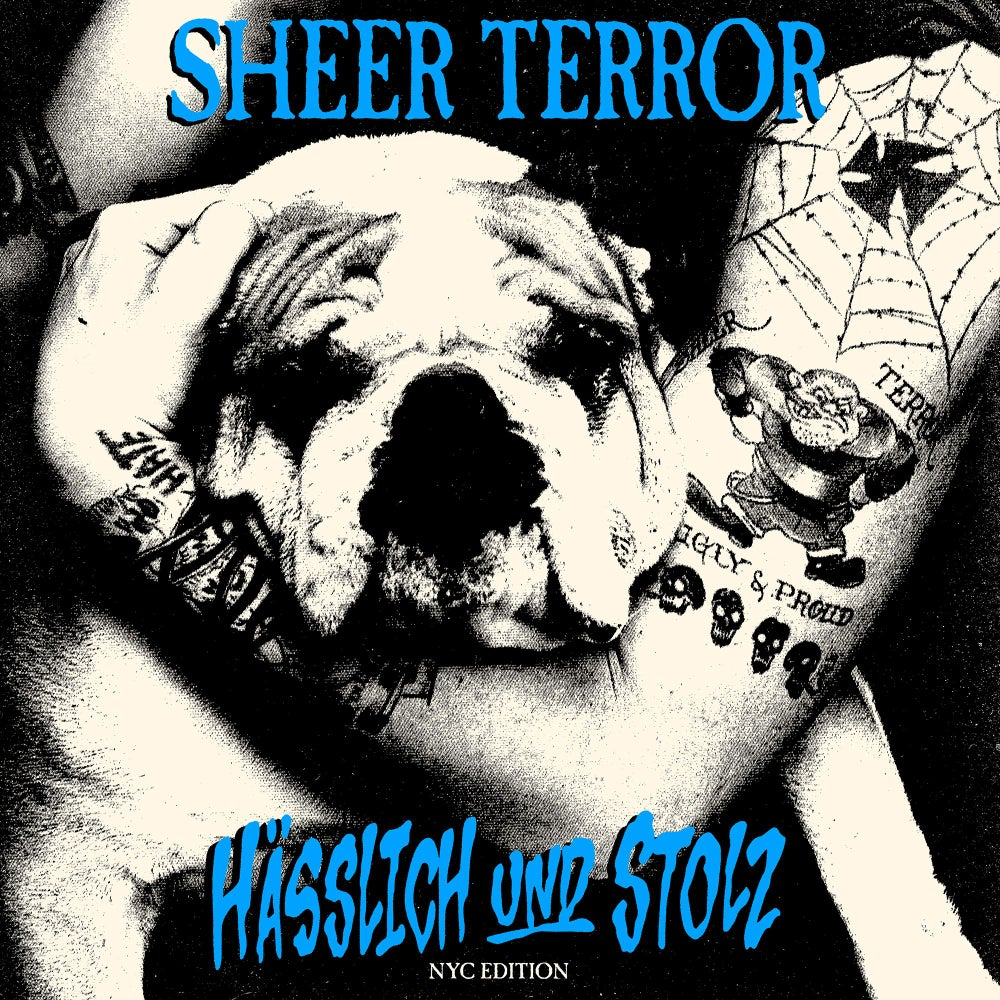 Image of Sheer Terror-Hasslich und Stolz LP Bundle featuring all 3 exclusive colors pre-order
