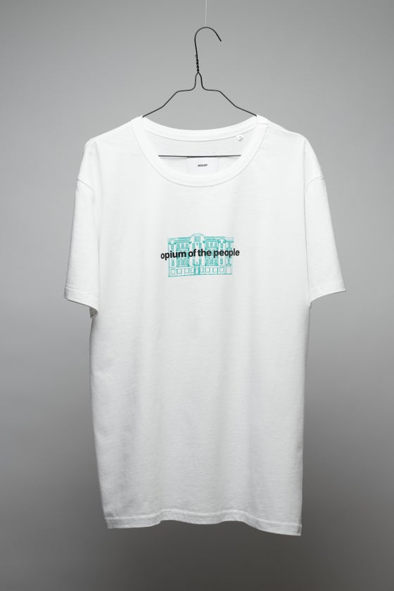 Image of OPIUM OF THE PEOPLE WHITE T-SHIRT CLASSIC