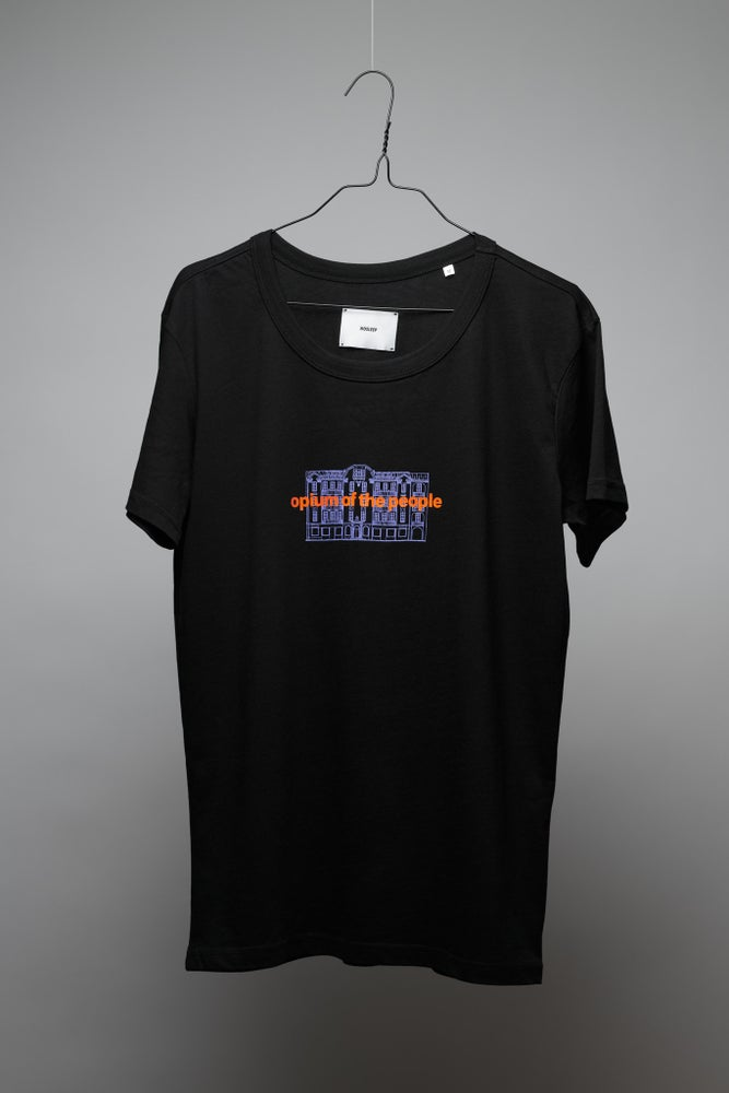Image of OPIUM OF THE PEOPLE BLACK T-SHIRT CLASSIC