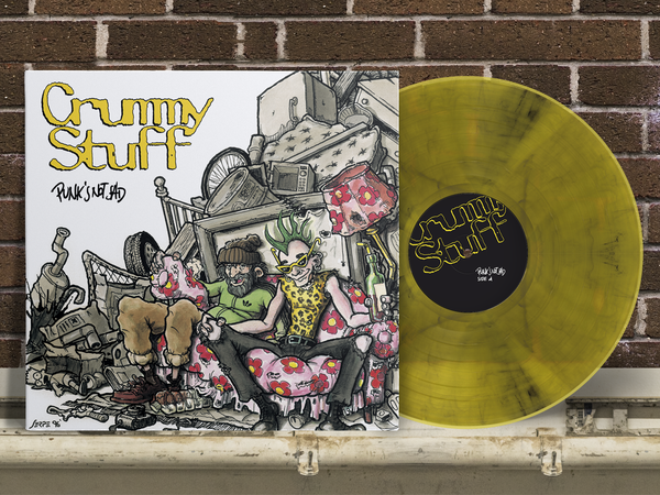 "Image of Crummy Stuff ""PUNK'S NOT SAD"" PRE-ORDER in the link below"