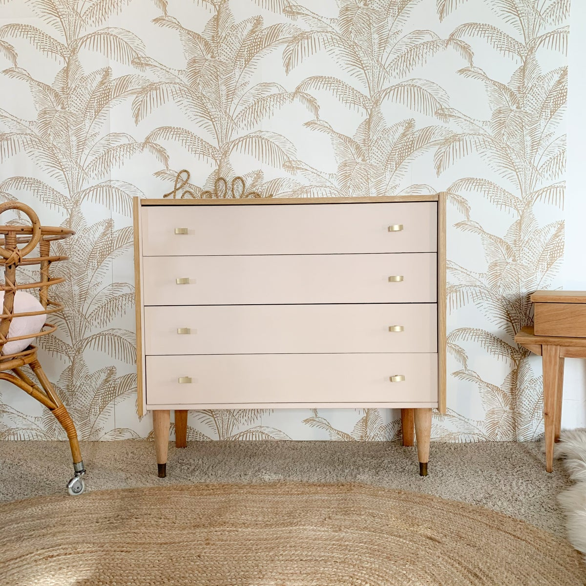 Image of VENDUE/SOLD OUT Commode Coquille Gold
