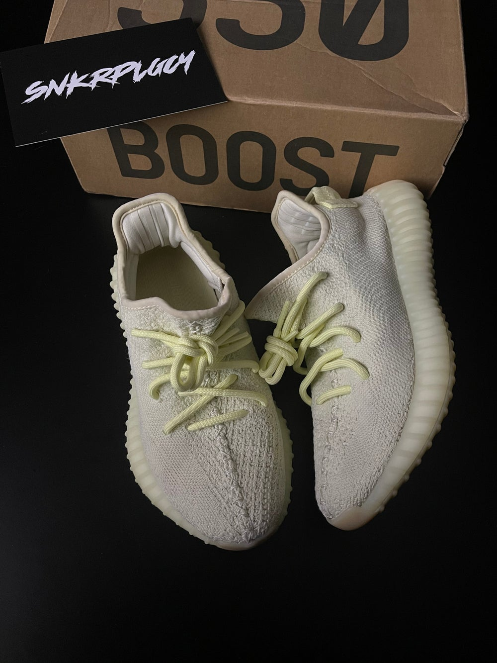 """Yeezy 350 """"Butter"""" / PRE OWNED"""