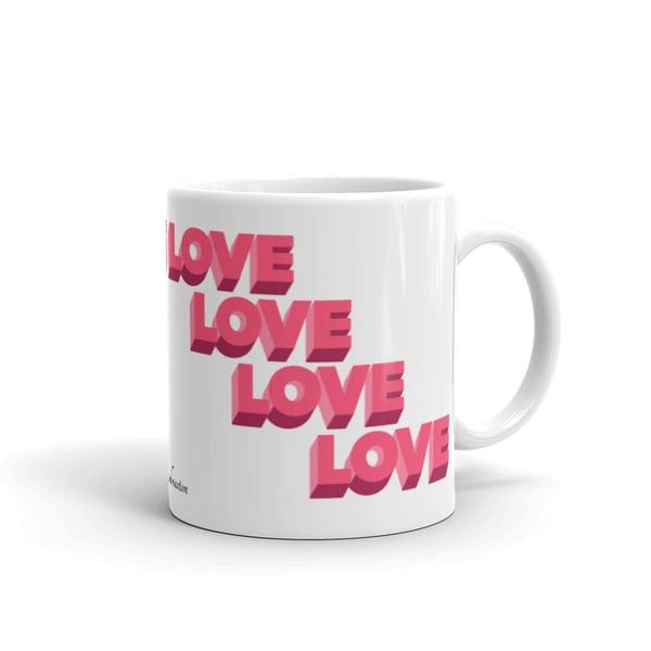 Image of LOVE Conquers All Mantra Mug