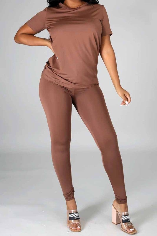 Image of Relaxed Leggings Set