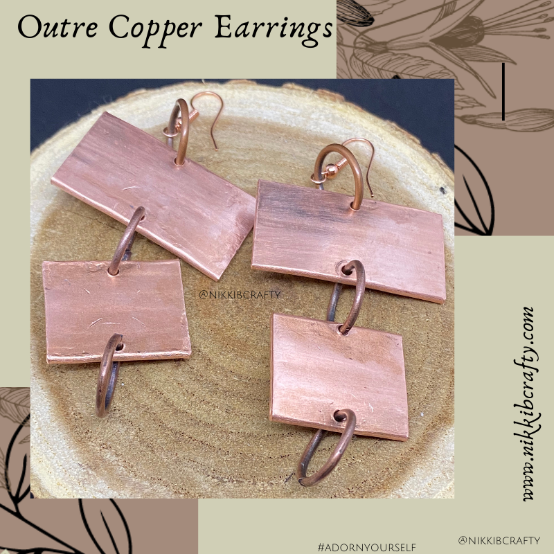 Image of Outre Copper Earrings